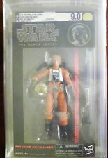"Star Wars Black Series 6"" Luke Skywalker X-Wing AFA 9.0 U 90 Uncirculated RARE"