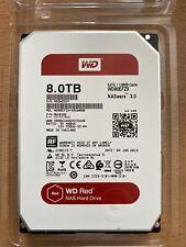 Western Digital Red Nas 8TB intern 5400RPM (WD80EFZX) NAS
