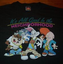 WB LOONEY TUNES IT'S ALL GOOD T-Shirt 4XL XXXL NEW TAZ Elmer Fudd Bugs Bunny