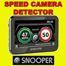 "SNOOPER MY SPEED XL 4.3"" GPS Car Speed Camera Detector FREE LIFETIME UPDATES"