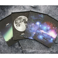 63sheets Space Milky Way Galaxy Aurora Letter Lined Writing Stationery Paper Pad