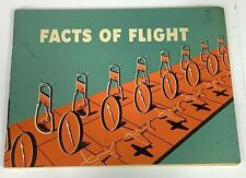 "1955 Department Of Commerce ""Facts Of Flight"" Booklet"