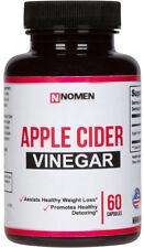 Organic Apple Cider Vinegar Capsules - 1250mg 60 capsules - Natural Weight Loss