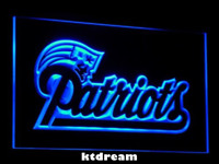 7 COLOR New England Patriots LED Neon Light Sign Display NFL Fan Home Decor Gift