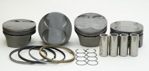 MAHLE HONDA PRELUDE H22 H22A H22A1 H22A4 PISTONS 87MM 10.0:1 CR FOR USE WITH FRM