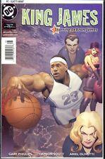 King James #1 Powerade Olivetti Variant LeBron James DC Comics 2004 VF