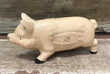 Cast Iron Norco Foundry, Pottstown, PA, Vintage-Style Pink Pig Coin Bank