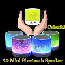 LED Bluetooth Sans Fil Haut-parleur Stéréo Enceinte Mini Speaker iPhone MP3 FTO