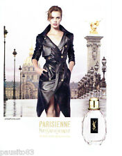 PUBLICITE ADVERTISING 086  2011  Parisienne parfum femme Yves Saint Laurent