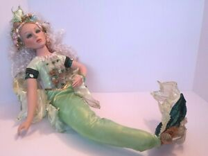 SHOW STOPPERS FLORENCE MARANUK MERMAID FAIRY PORCELAIN DOLL VERY GOOD CONDITION