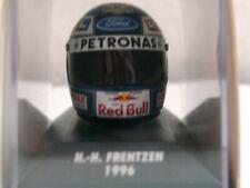 WOW EXTREMELY RARE Helmet Frentzen 1996 Arai Sauber Hockenheim 1:8 Minichamps