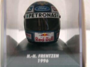 WOW EXTREMELY RARE Helmet Frentzen Arai Sauber Hockenheim 1996 1:8 Minichamps