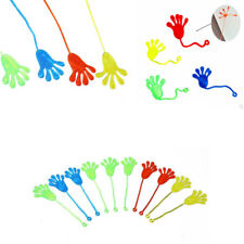 1PC KIDS PARTY SUPPLY BIRTHDAY MINI STICKY JELLY SLAP SQUISHY HAND TOY GIFT
