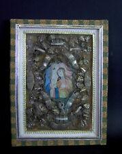 Klosterarbeit 19. Jhd - Mutter Anna lehrt Maria das Lesen