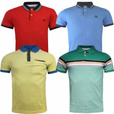 Long Sleeve Regular Fit Striped Casual Polo Shirts for Men