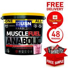 USN Muscle Fuel Anabolic 4kg 19-anabol TESTO 45 Cap Steel Shaker Caramel Popcorn