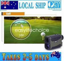 Golf Distance Measure Meter 6xSpeed Measurer Laser Rangefinder Hunting Monocular