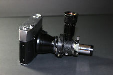 Leitz Wetzlar German macro-photograph/photography film camera w/lens