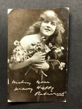Vintage Real Photo Postcard: Actress #B015: Posted 1921 Gladys Cooper