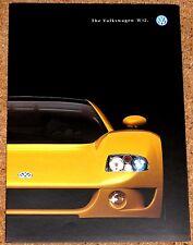 Volkswagen Syncro W12 ROADSTER Sales Brochure 1998 - VW Concept Car