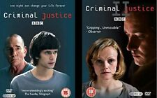 CRIMINAL JUSTICE Series 1&2 DVD Sets