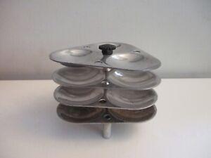 Hawkins Aluminum Idli Stand for Pressure Cooker Can Cook 12 Mini Idlis