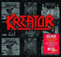 KREATOR Love Us Or Hate Us The Very Best Of The Noise Years 2CD NEW Digipak