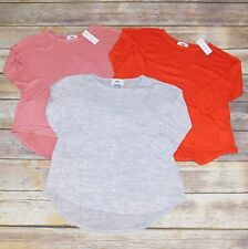 NWT Lot of 3 Old Navy Long Sleeve Tops, Youth Mediums