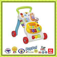 Aus Qlty Baby/Toddler Musical Activity Walker-Baby Learning First Steps
