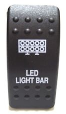 LED LIGHT BAR SWITCH, 5A, HONDA PIONEER 1000 OR 700 WITH ACCESSORY SWITCH PLATE