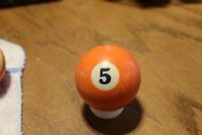 OLD Billiard Ball #5 (E)