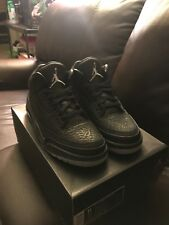New DS Jordan 3 Retro Black Flip size 11 315767 001