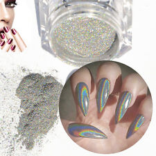 NEW Holographic Laser Powder 1 Gram Nail Art Glitter Rainbow Chrome Pigment