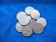 10x GB grandi Britannia Cinquanta Pence PEZZI 50p's - Regno Unito Fidato eBay del venditore