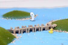 3 pcs Miniature Fairy Garden Floating Docks Terrarium Accessory (FAST SHIPPING)