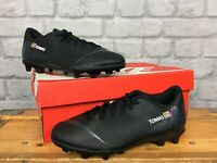 NIKE BOYS UK 4 EU 36.5 BLACK MERCURIAL VAPOR 12 CLUB GS FG TURF FOOTBALL BOOTS