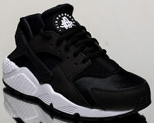 ac9aadca4a199 Nike Air Huarache Run Womens 634835-006 Black White Running Shoes WMNS Size  10