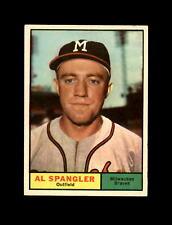 1961 Topps Baseball #73 Al Spangler (Braves) EXMT