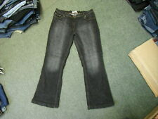 "Papaya Bootcut Jeans Size 18 Leg 31"" Black Faded Ladies Jeans"