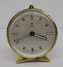 vintage alarm clock - Mechanische Tischuhr Junghans TriVox Wecker Tisch Uhr 60er