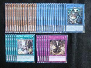 YU-GI-OH 40 CARD MEGALITH DECK  *READY TO PLAY*