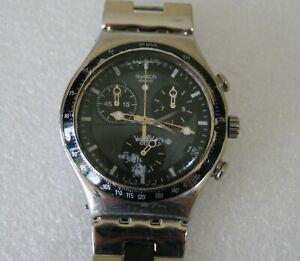 SWATCH Irony Watch Stainless Steel Quartz Wristwatch Spares / Repairs