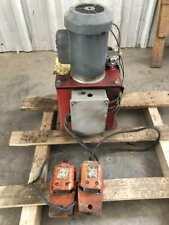 Hydraulic Pump Power Unit 1hp 5 Gal 0 3000psi 115230v 1ph