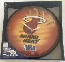 Miami Heat NBA Basketball Vintage Round Wall Clock