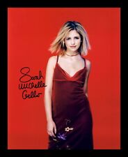 SARAH MICHELLE GELLAR AUTOGRAPHED SIGNED & FRAMED PP POSTER PHOTO 1