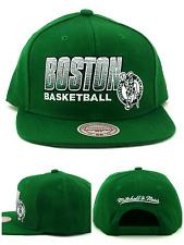 ceae8aa3ee7dd3 Boston Celtics New Mitchell & Ness Retro Score Keeper Black Era Snapback Hat  Cap