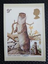 Gb UK Mk 1977 Otter maximum tarjeta Carte maximum card mc cm c5050