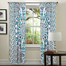 Hippie Bohemian Indisch Vorhang Fenster Volants Behandlung Dorm Mandala Tapestry