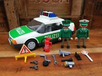Playmobil 3903 German Polizei Police Car with Figures + Accessories