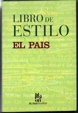 LIBRO DE ESTILO - EL PAIS - 1999